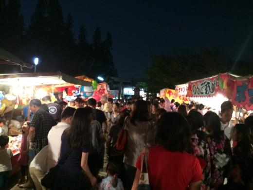 阿部野神社夜店