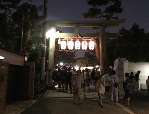 阿部野神社夏祭り