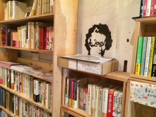 居留守文庫の壁