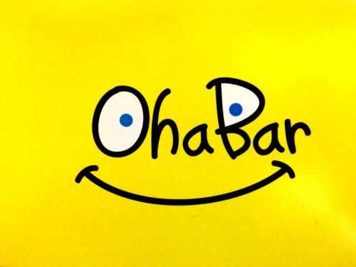 Oha Barのポストカード