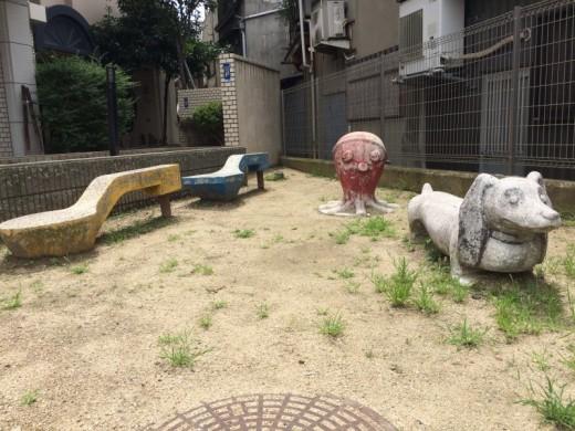阿倍野の公園
