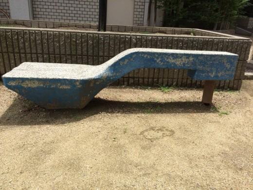 阿倍野の公園フォーク