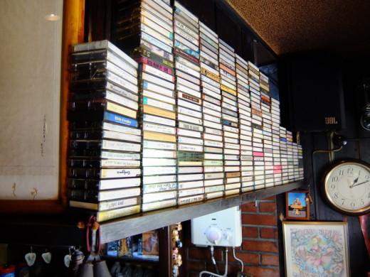 力雀のカセットテープ