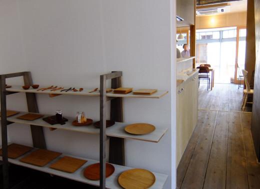 vow's cafeのギャラリースペース