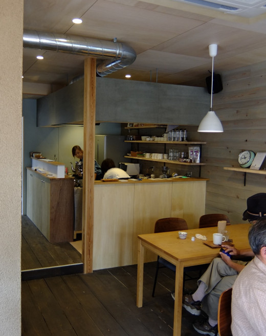 vow's space + cafe店内