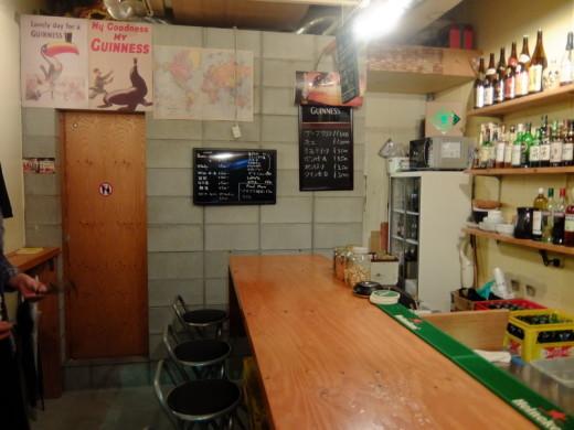 Oha Bar店内