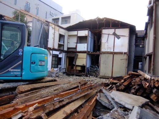 一富士荘解体