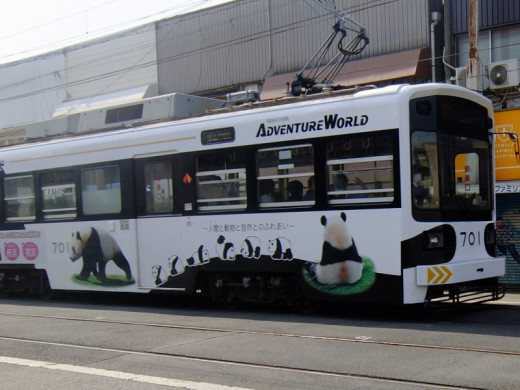 阪堺電車のパンダ号