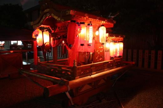 阿部野神社御輿
