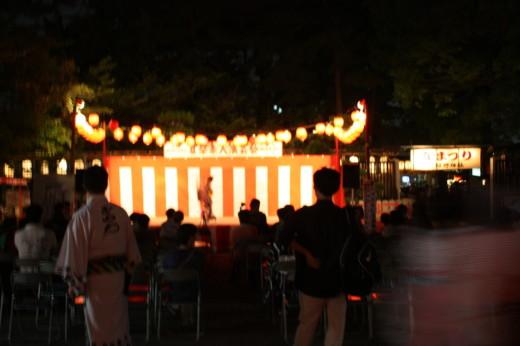 阿部野神社素人演芸会