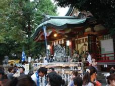 阿倍王子神社の夏祭り