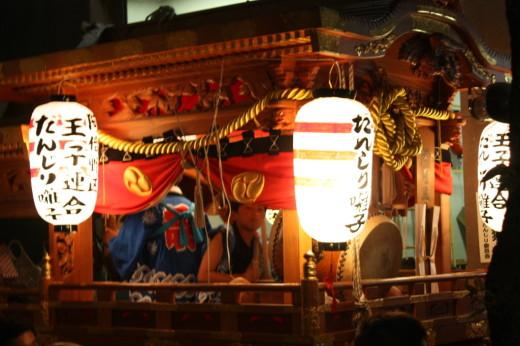 阿倍王子神社だんじり囃子
