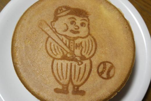 野球せんべい