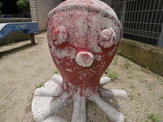 阿倍野の公園タコ